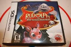 NINTENDO DS Game RUDOLPH THE RED-NOSED REINDEER