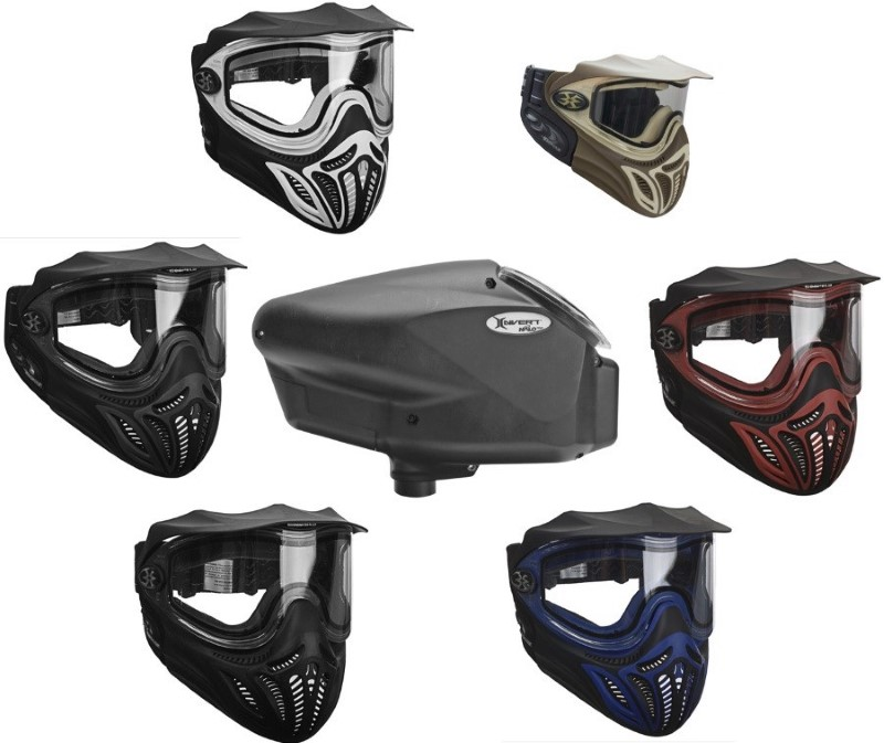 EXTREME RAGE XRAY PAINTBALL MASK & GOGGLES