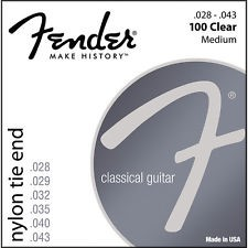 FENDER Musical Instruments Part/Accessory 100 CLEAR