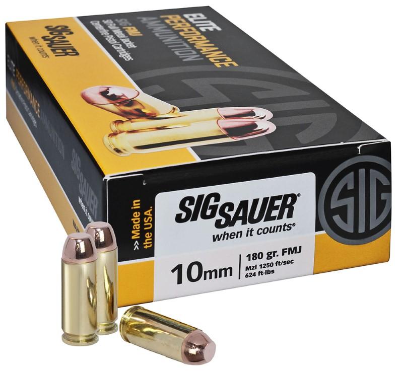 SIG SAUER Ammunition E10MB1