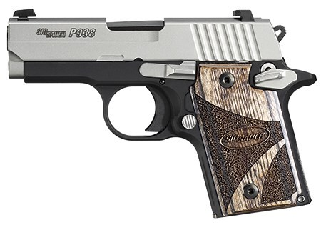 SIG SAUER Pistol P938 BLACKWOOD