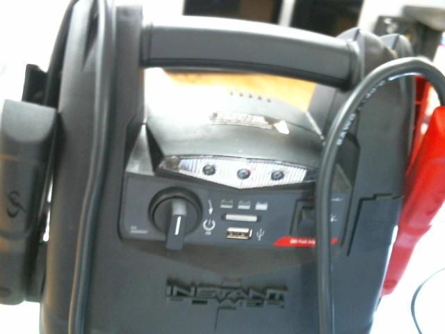 SCHUMACHER Battery/Charger INSTANT POWER SJ4