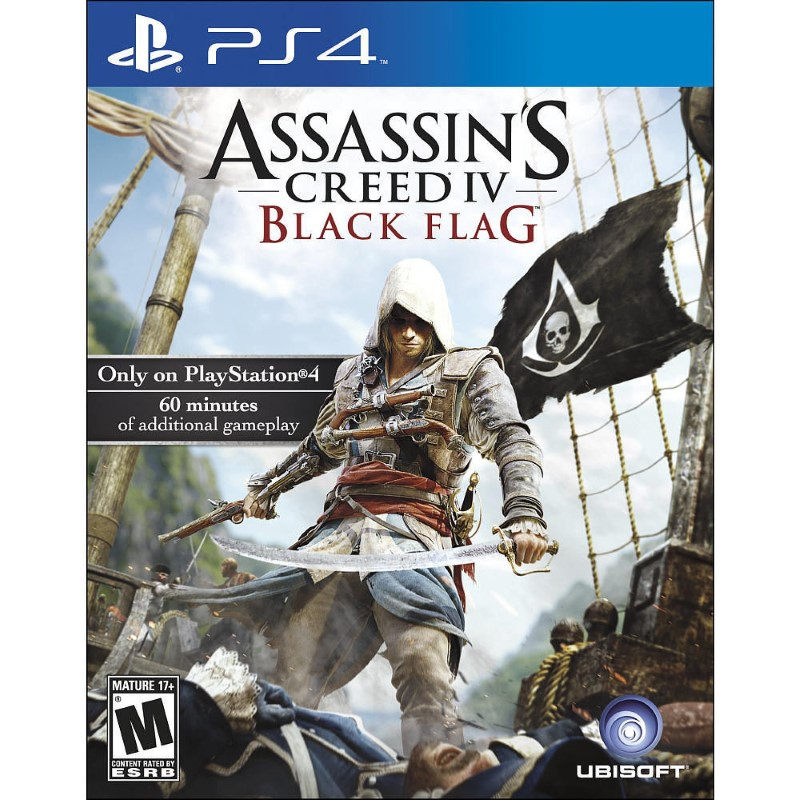 SONY Sony PlayStation 4 Game ASSASSINS CREED IV BLACK FLAG - PS4
