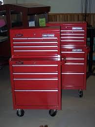 CRAFTSMAN Tool Rollaway Box 9 DRAWER ROLLING TOOLBOX