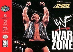 NINTENDO Nintendo 64 Game WWF WAR ZONE NINTENDO 64