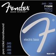FENDER 7150M ELECTRIC BASS GUITAR STRINGS PURE NICKEL ROUNDWOUND