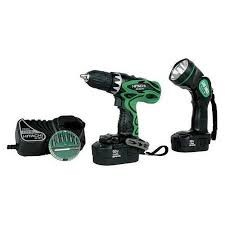HITACHI Combination Tool Set DS18DVF3 UB18D COMBO