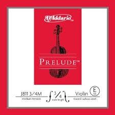 D'ADDARIO Violin PRELUDE 3/4 VIOLIN STRING MED