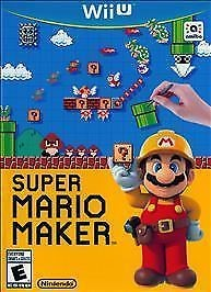NINTENDO Nintendo Wii U Game SUPER MARIO MAKER WII U GAME