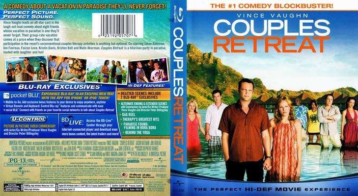BLU-RAY MOVIE Blu-Ray COUPLES RETREAT