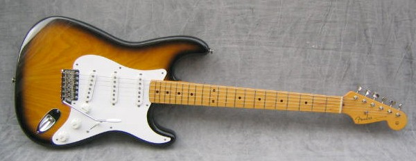 FENDER Electric Guitar STRATOCASTER - 40TH ANNIVERSARY 1954