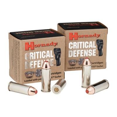 HORNADY Ammunition CRITICAL DEFENSE 45 COLT 185 GR FTX
