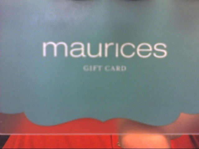MAURICES STORE Gift Cards GIFT CARD