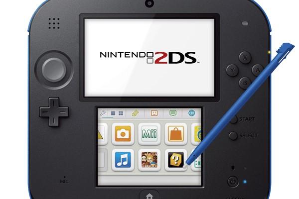 NINTENDO Video Game System 2DS - FTR-001 - HANDHELD