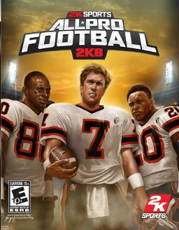 MICROSOFT Microsoft XBOX 360 Game 2KSPORTS ALL PRO FOOTBALL 2K8