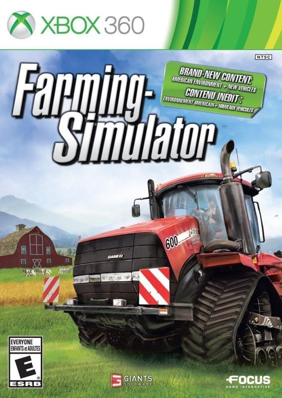 MICROSOFT Microsoft XBOX 360 Game FARMING SIMULATOR