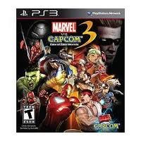 SONY Sony PlayStation 3 Game MARVEL VS CAPCOM 3 FATE OF TWO WORLDS