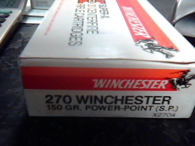 WINCHESTER Ammunition 150 GR 270