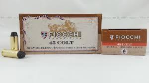 FIOCCHI AMMUNITION Ammunition 45LCCA