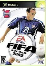 MICROSOFT Microsoft XBOX Game EA SPORTS FIFA SOCCER 2003