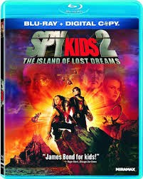 BLU-RAY SPY KIDS 2 THE ISLAND OF LOST DREAMS