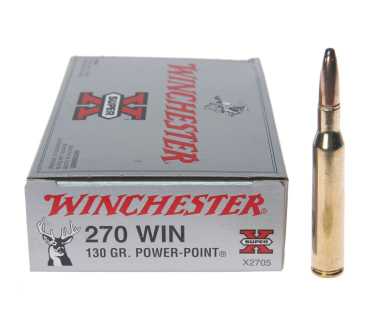 WINCHESTER Ammunition .270 WIN 130 GR POWER POINT