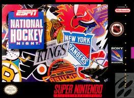NINTENDO Nintendo SNES ESPN NATIONAL HOCKEY NIGHT