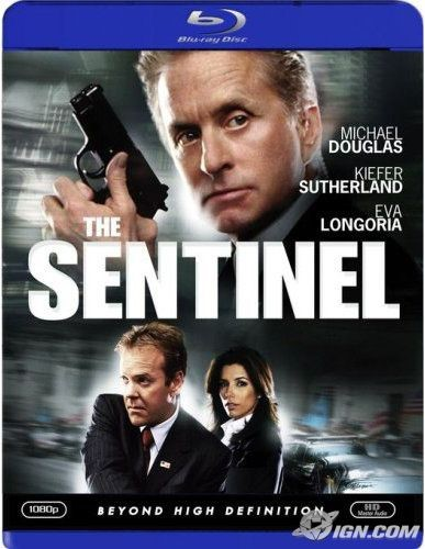 THE SENTINEL, ACTION BLU-RAY MOVIE STARRING MICHEAL DOUGLAS
