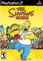 SONY Sony PlayStation 2 THE SIMPSONS GAME PS2