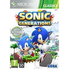 MICROSOFT Microsoft XBOX 360 Game SONIC GENERATIONS