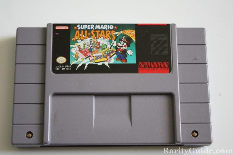 NINTENDO Nintendo SNES Game SUPER MARIO ALL STARS SNES