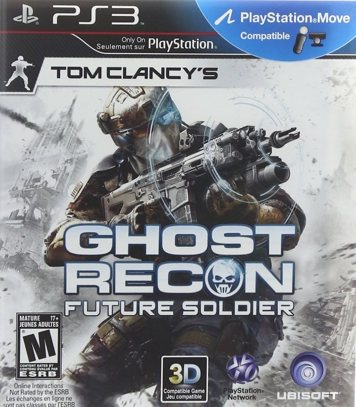 SONY Sony PlayStation 3 Game TOM CLANCY'S GHOST RECON FUTURE SOLDIER