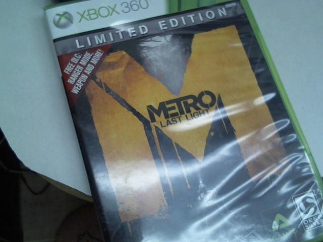 MICROSOFT Microsoft XBOX 360 Game METRO LAST LIGHT