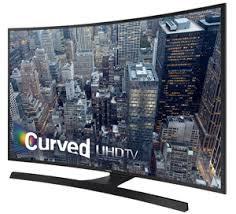 """Samsung 4K 55"""" Curved Smart LED TV"""
