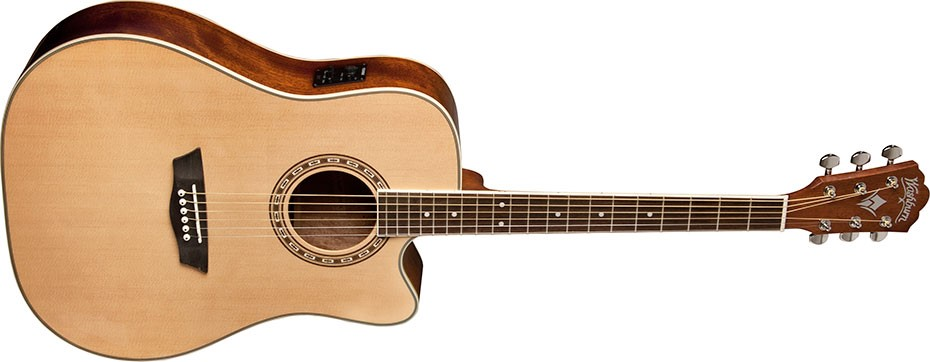 WASHBURN Acoustic Guitar WD10CE