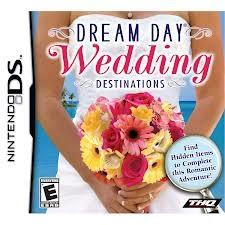 NINTENDO Nintendo DS Game DREAM DAY WEDDING DESTINATIONS
