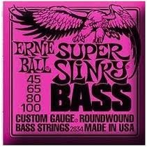 ERNIE BALL Musical Instruments Part/Accessory 2834 SLINKY BASS STRINGS