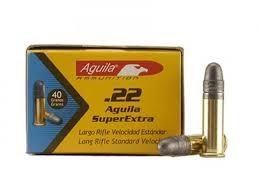 AGUILA AMMO Ammunition 22 SUPER EXTRA SUBSONIC