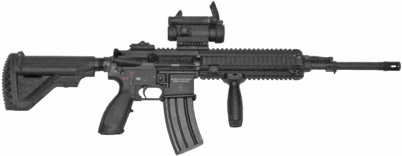 HECKLER & KOCH Rifle HK 416D