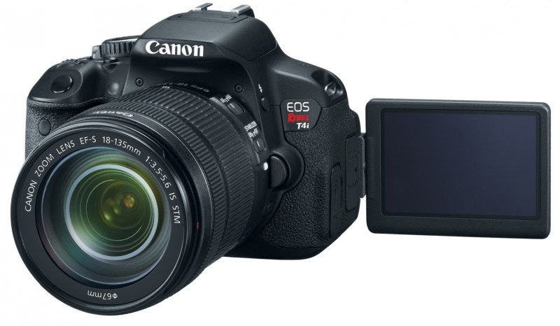 Canon EOS Rebel T4i 18mp Digital SLR