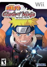 NINTENDO Nintendo Wii Game NARUTO CLASH OF NINJA REVOLUTION (WII)