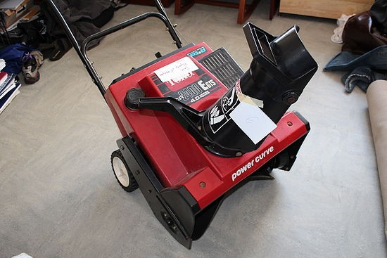 "TORO 20"" SNOWBLOWER CCR 1000E"