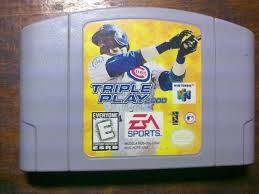 NINTENDO Nintendo 64 Game TRIPLE PLAY 2000