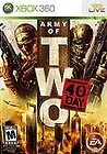MICROSOFT XBOX 360 Game ARMY OF TWO THE 40TH DAY