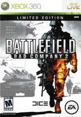 MICROSOFT Microsoft XBOX 360 Game BATTLEFIELD BAD COMPANY 2 LIMITED EDITION
