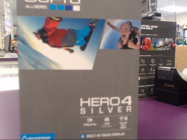 GOPRO Digital Camera HERO 4 SILVER