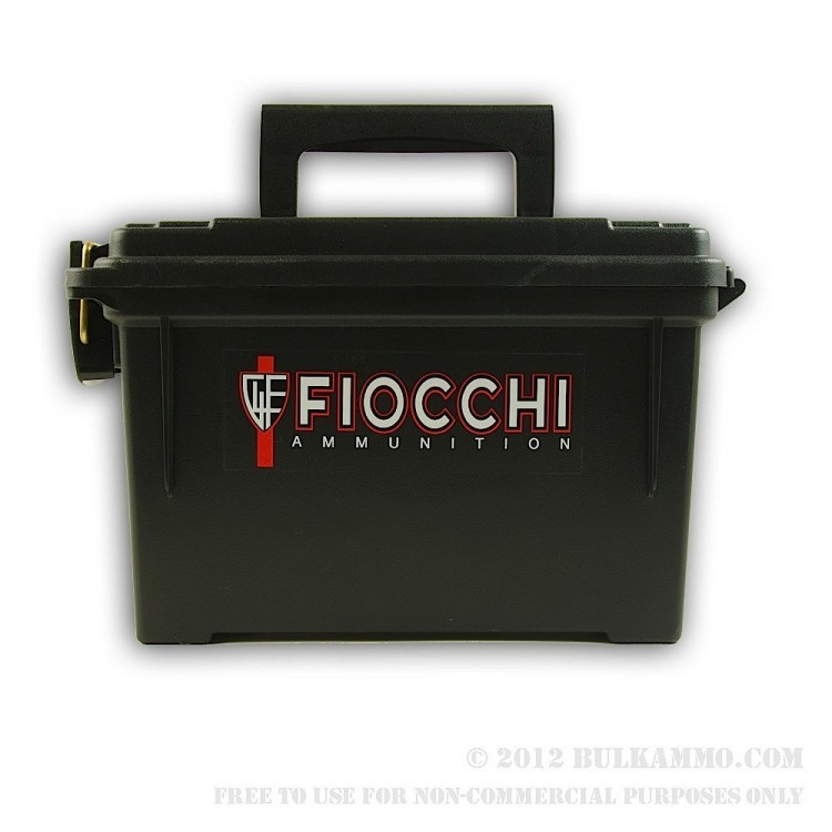 FIOCCHI AMMUNITION Accessories AMMO CAN PLASTIC
