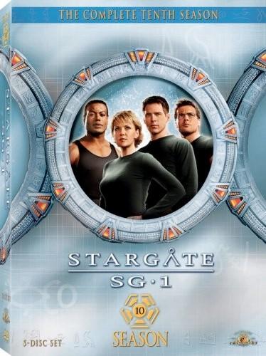 METRO GOLDWYN MAYER DVD STARGATE SG1 THE COMPLETE TENTH SEASON