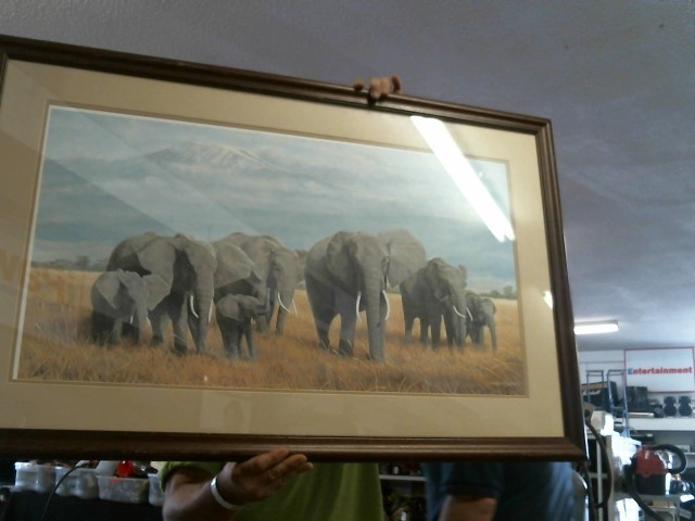 CHARLES FRACE Painting TREASURE OF AFRICA