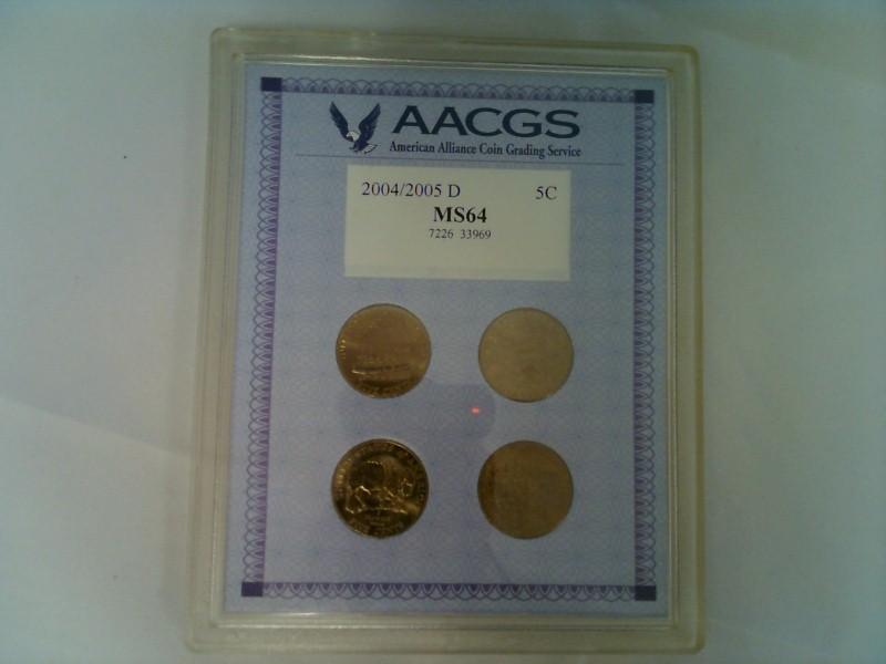 AACGS Mint Set 2004-2005 P 5C